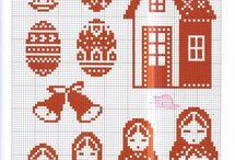 monochrome stitch