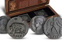 Antika mynt / Mynthuset Sverige erbjuder många olika typer av gamla mynt, bland annat romerska och grekiska antika mynt.