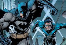 comics and super heros things