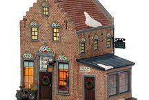 Dickensville etc winterdorp / Kerst