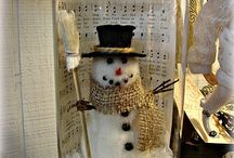 Christmas/Winter Decorating / by Sheila Pierson