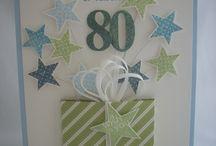 Tarjetas aniversari 90