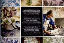 Linocut - printmaking - painting