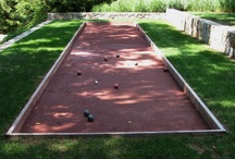 Outdoor recreation / Golf, Basketball, Boccie, Tennis for your home