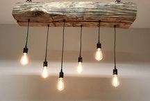 Edison Bulb Light Fixtures / Spice up your woodworking projects with edison bulb light fixtures.