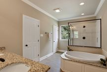 Bathrooms / A great bathroom can provide peace in some of your most private moments.
