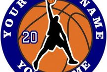 Customized Basketball Logo / Create your own Basketball logos with names, nicknames, anniversary dates, birthday on it to make iron-on transfers, decals stickers, patches, labels, etc. You also can change background, foreground, images inside the circles. No Minimum Order.   If you have any ideas about the Basketball logos, give it a shot, you would like the logos which are involved with your thoughts.