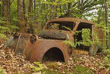 épaves,auto,motos,... / auto abandonnées et le reste