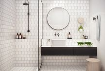 Bathroom ideas / Ideas for the bathroom Tiles Colors Brass  Marble