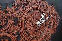 КОЖА (leather): Объёмная гравировка в стиле Sheridan / Шеридан