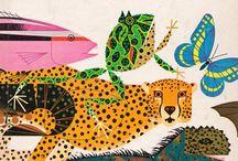 Mid-Century Animal Illustration