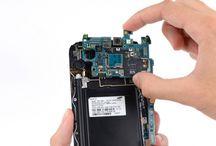 Sustitución de la placa base del Samsung Galaxy Note 2 / Para sustituir la placa base en su Galaxy Note 2, preste atención a la instrucción siguiente.