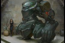 concept art - robots