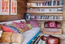 Cozy reading spaces / by Effie Smith