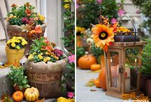 Fall home decor / Ideas for fall decorating