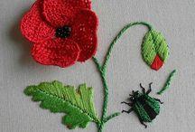 Вышивка + вязание