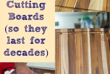 Maintaing Cutting Boards