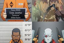 The Arkham crew