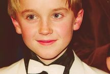 Tom Felton / Draco / The boy who made all the wrong choices being hella cute.