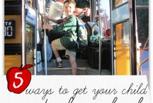 School Days / Ideas and suggestions for back-to-school, school-day routines, homework, and creating life-long enthusiasm for learning!