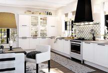 Färgglatt klassiskt kök