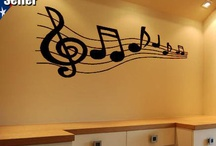 Music Room Decor / by Danelle Lankford