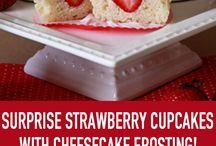 cupcakes strawberry