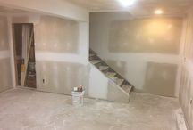 How To Finish a Basement - DIY Basement Renovation / Check out the entire step-by-step process of a DIY Basement Renovation. Finish a Basement yourself after checking out our blog.