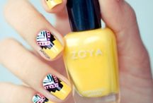 #NailArt / Wether you like Aztec, spotty, stripy or just plain you've come to the right place!