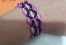 Bileklik Çalışmalarım- Bracelet Design