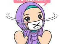 Hijab stiker