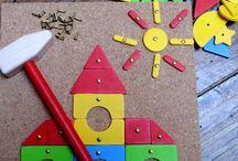 Tiroirs motricité Montessori 1-2H