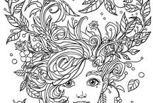 clean coloring pages