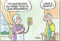 Dental Humor / Could you ever laugh heartily without your #teeth? Pun intended! 