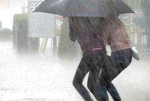 Dia de sol e chuva
