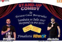 Stand-Up Comedy - George Tinta si Alex Serban - Terasa Casa Berarului