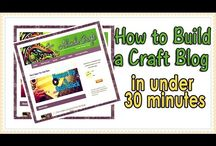 Start a Craft Blog / Learn how to build your own craft blog