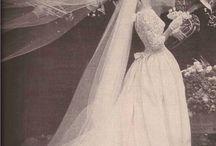 A vintage bride...
