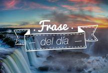 Frases del día Iguazú / Frases, inspiración, Cataratas del Iguazú