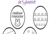 Easter Activities, Crafts and more for Bilingual Kids / Raising bilingual kids? Here are Easter recipes, printables, activities and more for kids learning Spanish!