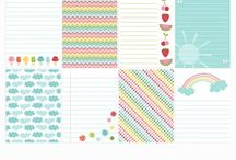 Scrapbooking- project life printables