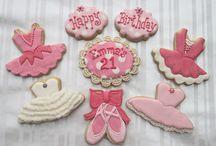 decorated cookies- ballet