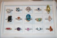 Gorgeous Gemstones / Showcasing some of our favorite finds in this multicolored and multifaceted mineral world.
