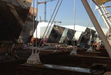 Expo 2015 Clusters / Pictures from Construction Site