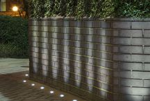 Lighting of gardens and outdoor spaces