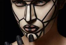 triangular makeup