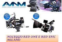 Noleggio red epic e red one milano