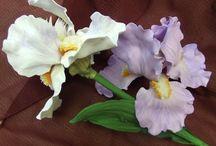 цветы из фома и бумаги