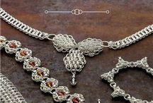 Вязание Викинга-Wiking Knitting / о вязании гривен и браслетов из проволоки - about knitting гривен and bracelet from wire