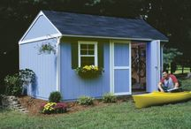 Tackroom & Garden Sheds / Garden and Tackroom Sheds are the perfect storage solution for any backyard. We love these designs!